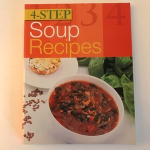 Like New 4 Step Soup Recipes Book by Sterling